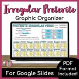 Preterite of Irregular Verbs Notes and Practice | Graphic Organizer