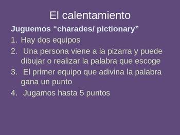 Preterite of Stem-Changing -ir Verbs (Sandals), Expresate Chapter 4, Spanish 2