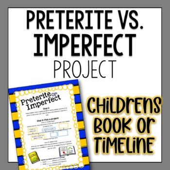 Preterite or Imperfect Spanish Project - Children's Book O