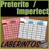 Preterite or Imperfect Verb Mazes in Spanish