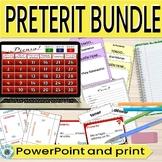 Preterite regular editable PowerPoints/Games/Activities/Re