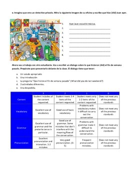 Preterite regular verb practice