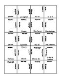 Preterite verb Puzzle, Regular and Irregular forms.