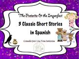 Preterite vs. Imperfect 3 Stories for Spanish