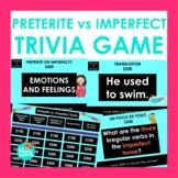 Preterite vs Imperfect Game | Spanish Jeopardy-style Trivia Game