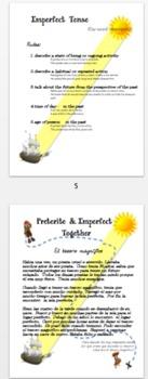 Preterite vs. Imperfect:  Practice - El Tesoro Magnífico