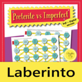 Spanish Preterite vs Imperfect: Game, Activity, Maze, Distance Learning
