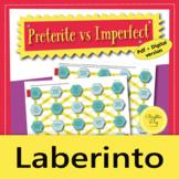 Preterite vs Imperfect: Game, Activity, Laberinto, Distanc