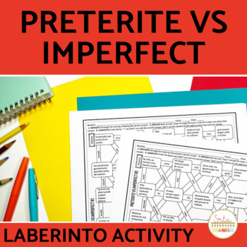 Preterite vs Imperfect Spanish Laberinto Practice Activity