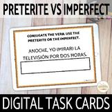 Preterite vs Imperfect DIGITAL Task Cards Boom Cards