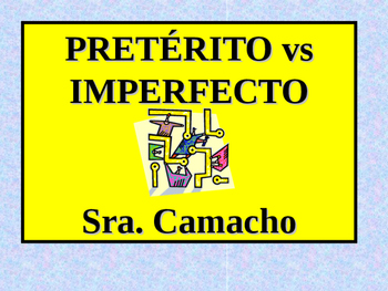 Preterite vs. Imperfect activity