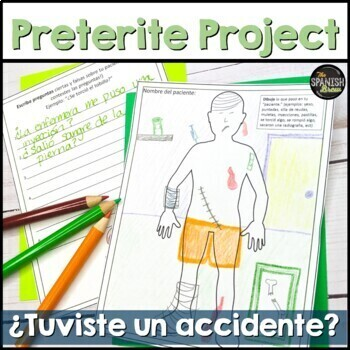 Preterite vs. Imperfect: creative writing- accident  Realidades Spanish 2 5B