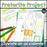 Spanish project using preterite & imperfect about accidents