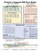 Preterite vs Imperfect fillable Cheat Sheet