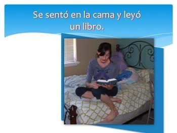 Spanish Preterite PowerPoint | TPR Story & Interactive Notebook Activities