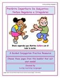 Pretérito Imperfecto De Subjuntivo Guided Conjugation Practice Booklet