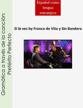 Preterito Perfecto Song activity Spanish present perfect