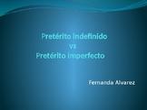 Preterito indefinido vs preterito imperfecto