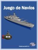 Pretérito Irregular Spanish Verbs Batalla Naval Battleship