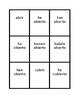 Pretérito perfecto Irregular Spanish verbs Spoons game / Uno game