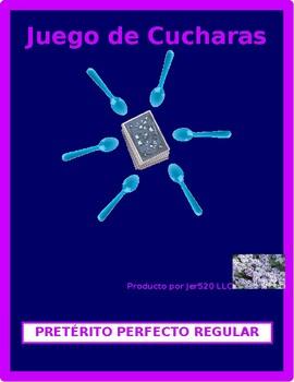 Pretérito perfecto Regular Spanish verbs Spoons game / Uno game