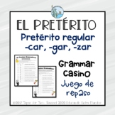 Preterito regular y -car, -gar, -zar