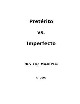 Preterito vs. Imperfecto (revised)