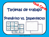 Preterito vs imperfecto task cards