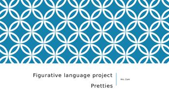 Pretties by Scott Westerfeld Figurative Language Activity