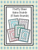 Pretty Blues Game Boards