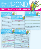 Pretty Dividers Bundle 1