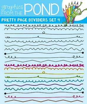 Pretty Dividers Set 4