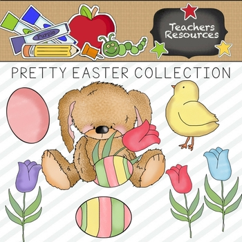 Pretty Easter Clipart Collection || Commercial Use Allowed