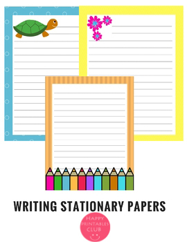 Writing Stationary Paper