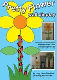 Pretty Flower Wall Display