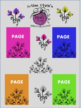 Pretty Frozen Inspired Flowers {pics~frames~pages}