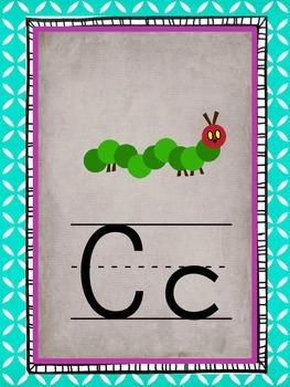 Pretty Little ABC line