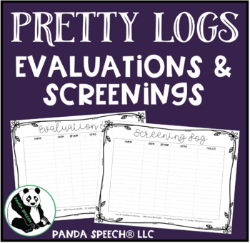 Pretty Logs for Speech & Language Evaluation and Screenings