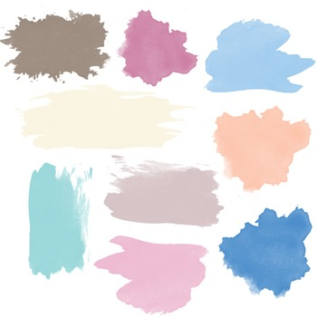 Pretty Paint Clipart, Paint, Set #194