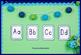 Alphabet Line - Editable - Coordinates with Pretty Paisley Classroom Theme