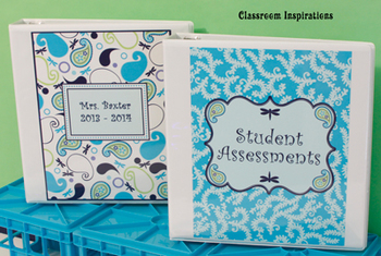 Binder Covers and Spines - Editable - Coordinates with Pre