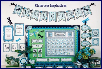 Classroom Themed Décor - Pretty Paisley Bundle