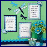 Classroom Themed Décor - Pretty Paisley Bundle