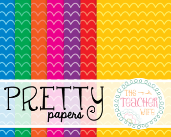 Pretty Papers {For Commercial and Personal Use}
