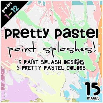 Paint Splashes Clipart