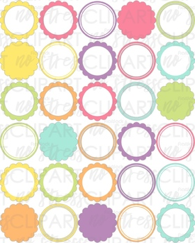 Pretty Pastels Design Pack (Digital Use Ok!)