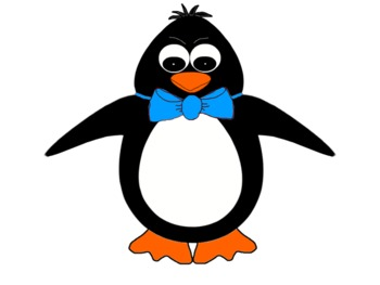 pretty penguins clipart by richi reynolds teachers pay teachers rh teacherspayteachers com penguin clipart free penguin clip art frame