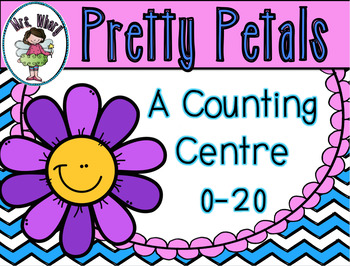 Pretty Petals {A Counting 0-20} Centre Aussie Version