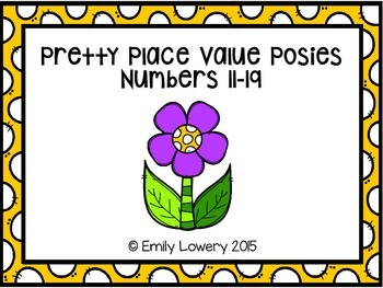 Pretty Place Value Posies
