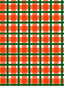 Pretty Plaid Digital Background Pages